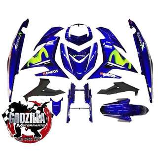COVERSET YAMAHA Y15ZR MOVISTAR 2017