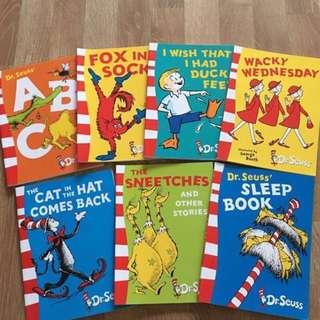 PL Dr Seuss books x6