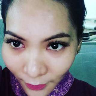 Eyelashes extension rm50 jer tau
