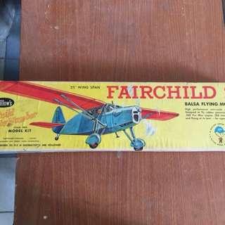 Fairchild 24 Balsa Flying Model Kit