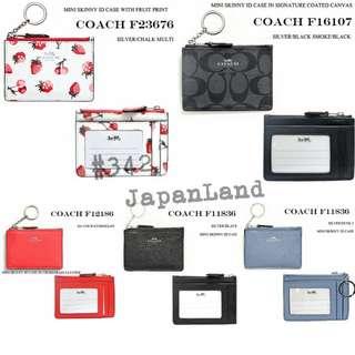 限時優惠 #342 Coach Card holder (兩件95折)