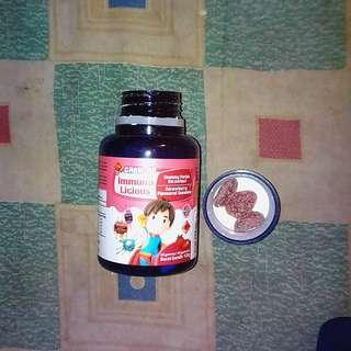 Chewies Immunolicious Mango / Strawberry  – 60s