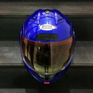 Benetton Formula 1 Flip up / Modular helmet