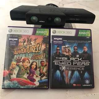 KINECT Sensor and 3games at $30