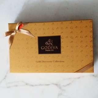 (佳節送禮佳選)Godiva chocolate Gold Discovery Collection (15 pcs)朱古力