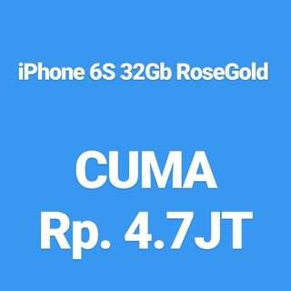 Promo iPhone 6S 32Gb RoseGolf