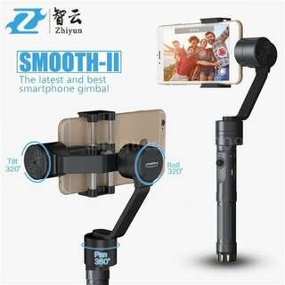 Zhiyun Smooth 2 (3-axis Gimbal for Smartphones)
