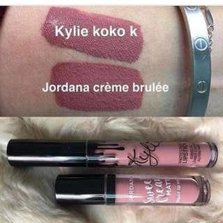 Jordana Sweet cream matte shade Creme Brulee