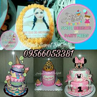 Customize Cake & Cupcakes