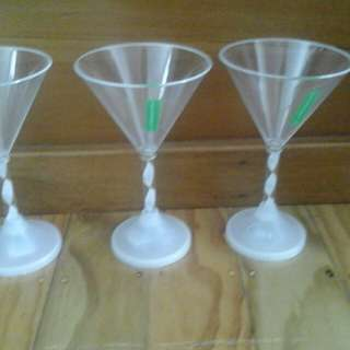 Cocktail glasses and shaker offers