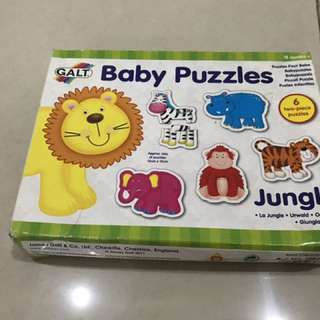 Baby/kid's animal puzzle