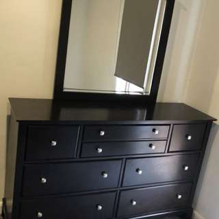 Bundle Deal!! Sofa Bed and Full Size Dresser & Mirror Set