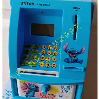Stitch Atm Coin Bank