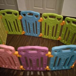 Coby fence panels (10pcs,no activities board,comes with new suctions)