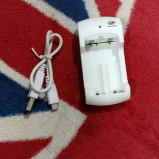 GP USB 充電器 Charger for AA AAA