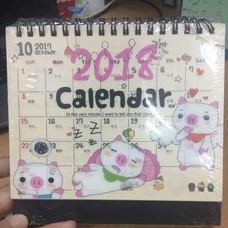 New 2018 Calendar