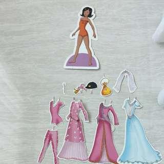 #freegift - Paper doll 1 (pretend play)