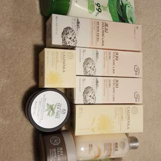 Brand New Korean Skincare Lot