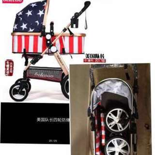 Baby Stroller Size: 89X56X22(mm) , 3C cert. Suitable for baby below 3 years old