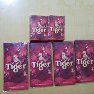 Tiger Playing Cards & Ang Pows
