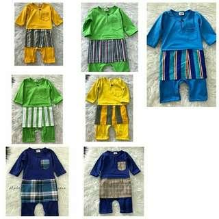 Baju Melayu Rompers