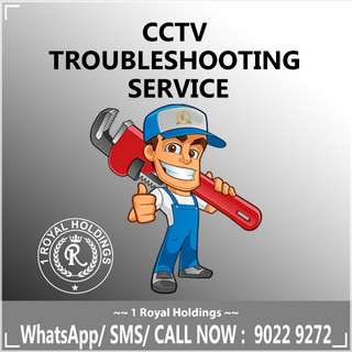 CCTV TroubleShooting/ Service/ Installation