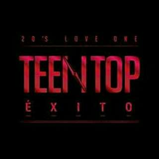 TEEN TOP EXITO MINI ALBUM WITH POSTER AND WINK BOOK PREORDER