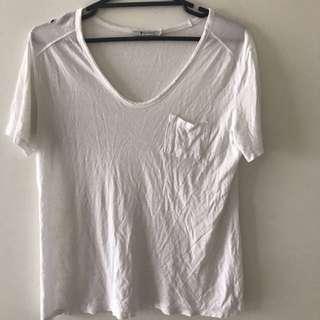 Alexander Wang white t-shirt