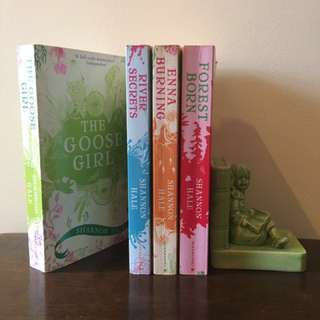 The Goose Girl Series by Shannon Hale