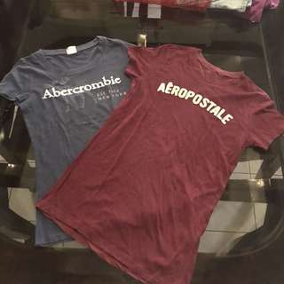 BUNDLE! Abercombie and Aeropostale Shirts