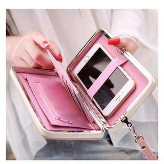 Wallet w/Cellphone Holder