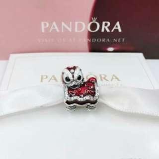 Pandora lion lucky charm