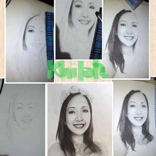KhilotzArt02 Portrait Drawing
