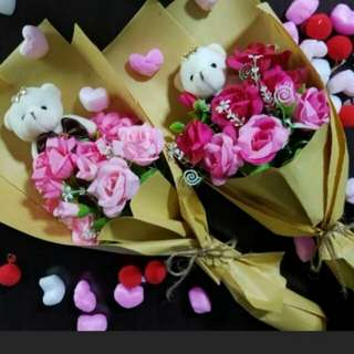 ($25) Bouquet jessie pink