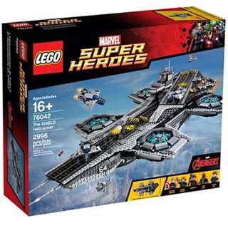 *LegoAsh* 76042 The Shield Hellicarrier