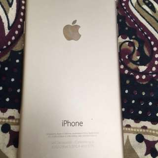 iPhone 6-64GB gold price negotiable