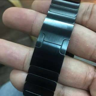 Apple Watch 42mm太空黑原裝錶鏈帶