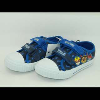 PO limited Stock paw patrol canvas shoe brand new size 13.2-16.3cm only