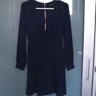 Portmans Navy Dress Size 6