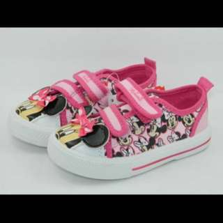 PO Minnie Mouse Canvas Shoe Brand New Size 13.6-17.6cm