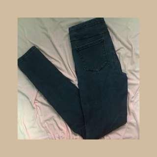 Zara Denim Highwaist skinny jeans