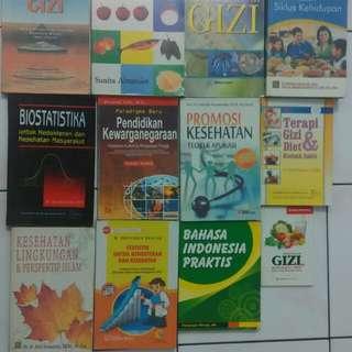 Buku Kuliah Kesehatan & Gizi