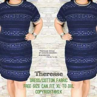 Therese dress fits upto 3XL
