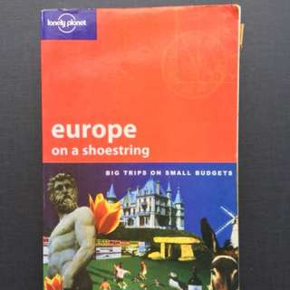 (Fake) Europe Lonely Planet Travel Guide