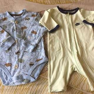 Baby Suits 6m - Nike and Oshkosh