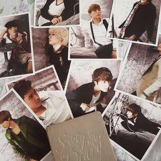 Super Junior 2012 Diary - Photocards