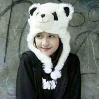 NEW! topi panda uk dewasa animal hat