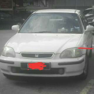 Honda Civic 1999 1.6L Auto