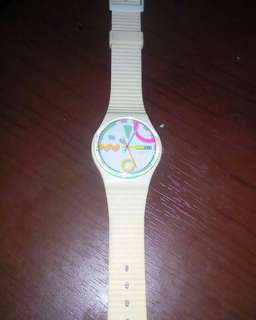 Swatch Standart Gents With Daye || Only watch No Box || Water Resistant || Good Condition || vintage watch