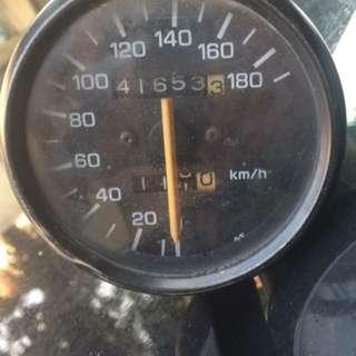 Meter Rxz putih original moto
